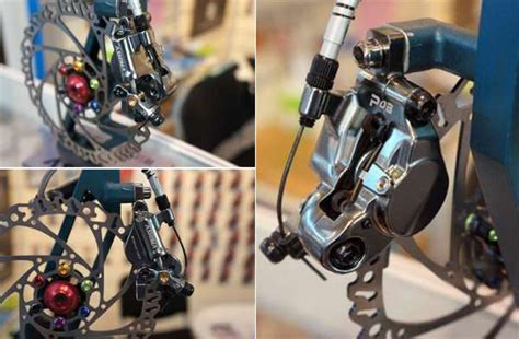 Disc Brake Mekanik 160mm Hitam ashima pcb rem sepeda mekanik dan hidrolik
