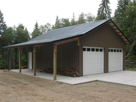ideas detached 2 car garage plans shop detached 2 car garage plans ranch style house plans garages pole barn builder specializing in post frame