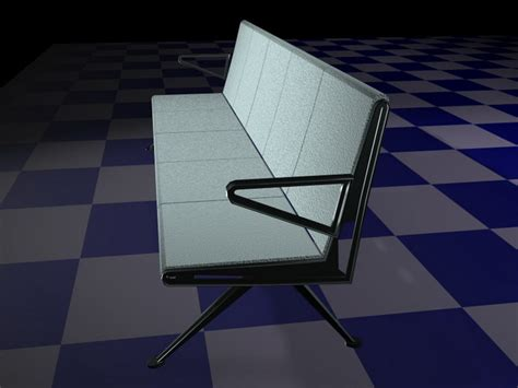waiting area chairs 3d model airport waiting chairs 3d model 3d studio 3ds max files