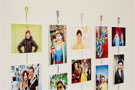 creative ways to hang pictures without frames alternative stylish ways to display photos