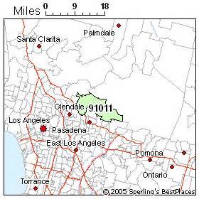 la canada map best places to live in la canada flintridge zip 91011