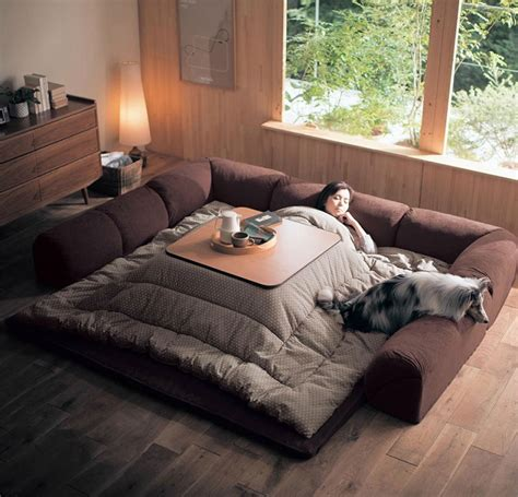 warm bed sheets kotatsu is a japanese table that offers the comfort of a