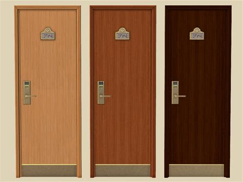 mod the sims recolours of maxis specialty doors