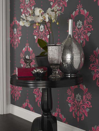 wallpaper designs dulux damask wallpaper elegance for today s modern homes