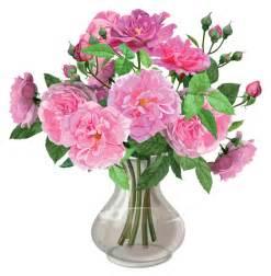 pink roses in vase transparent png clipart roses for