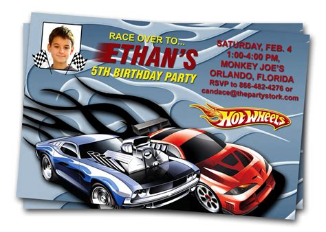 printable birthday cards hot wheels hot wheels birthday invitations bagvania free printable