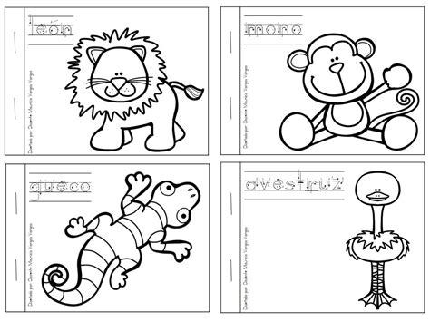 imagenes educativas animales mi libro de colorear de animales salvajes 3 animales