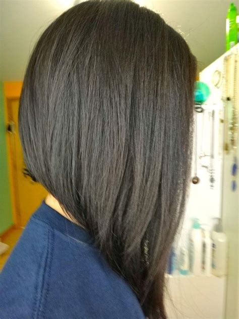 best 25 long aline haircut ideas on pinterest long 15 best ideas of hairstyles long inverted bob