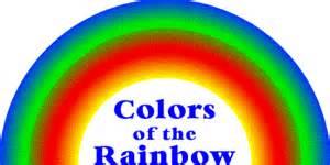 the colors of the rainbow colors of the rainbow