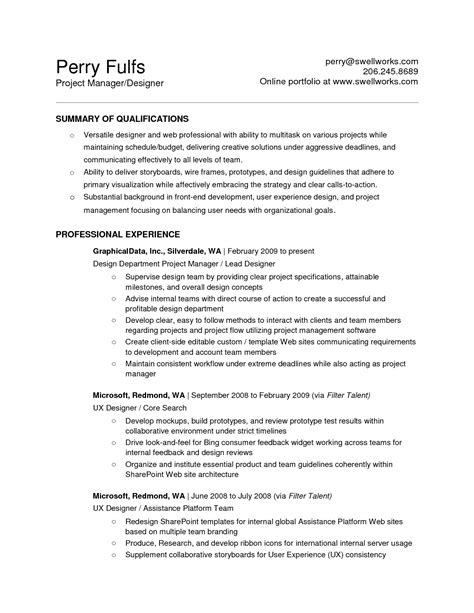 Electronics Engineer Description by 100 Free Printable Resume Sle For Resume Template Templates Free Printable Resumes