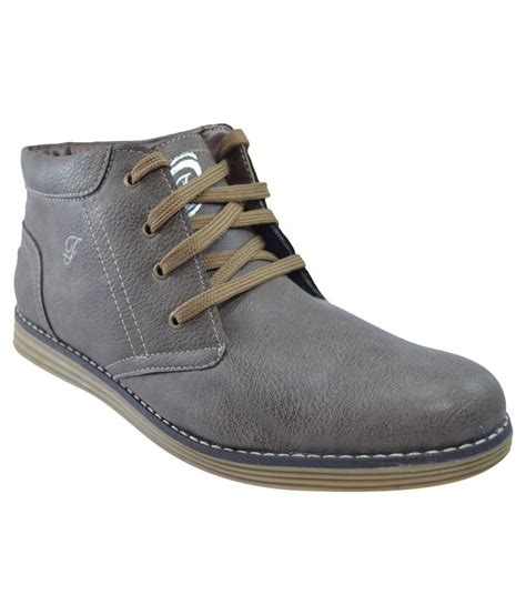 buy fossa gray casual shoes for snapdeal