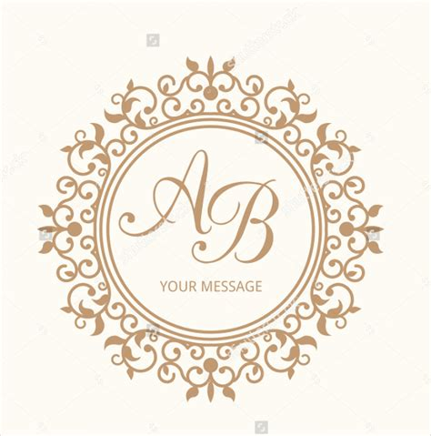 free editable logo templates wedding logo template 90 free psd eps ai illustrator