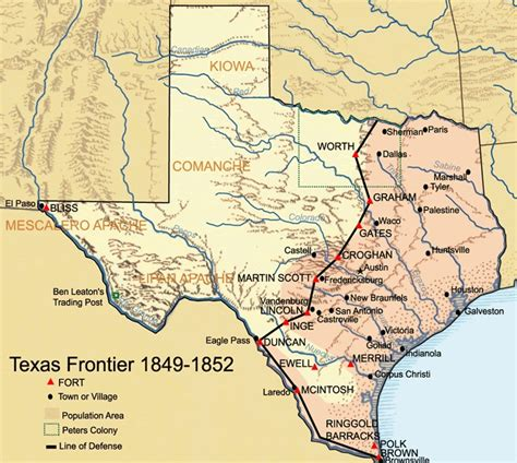 texas indians map comanche indians the handbook of texas texas state historical association tsha