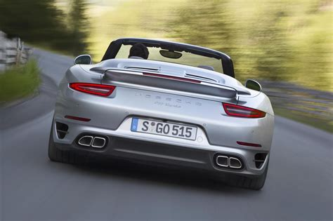 new porsche 911 convertible 2014 porsche 911 turbo turbo s cabriolet revealed