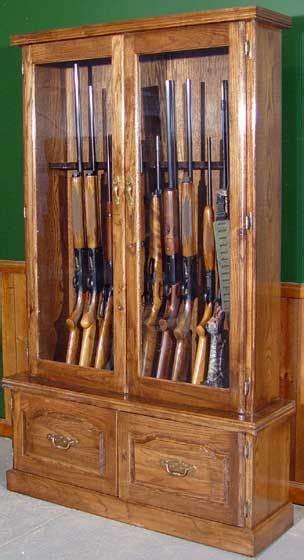 1000 ideas about wood gun cabinet on gun