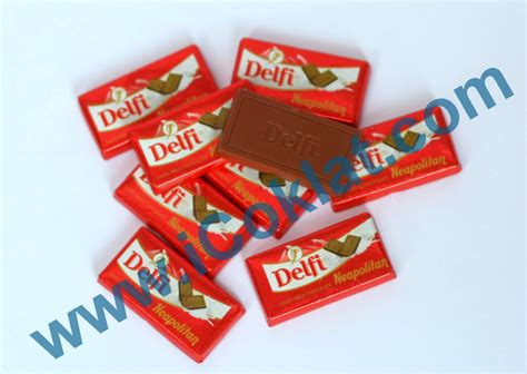 Delfi Chacha Milk Chocolate Berat 250grm icoklat web store