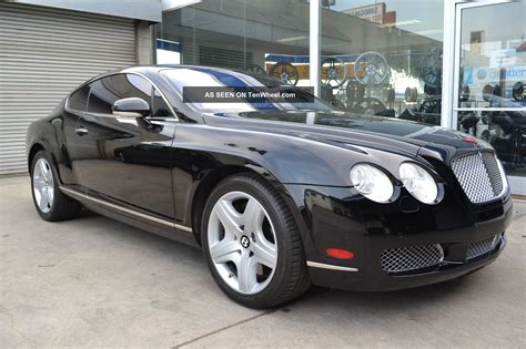 bentley 2 door 2005 bentley continental gt coupe 2 door 6 0l jet black