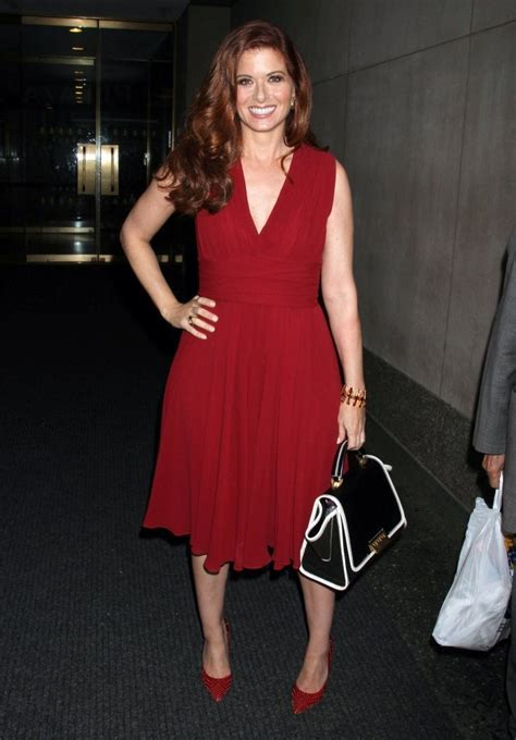 Style Debra Messing Fabsugar Want Need by Debra Messing In Eric Mccormack And Debra Messing At The