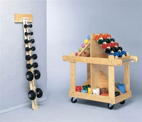 wall mounted wood dumbell rack bailey manufacturing