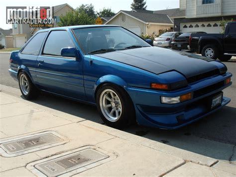 1985 Toyota Corolla For Sale 1985 Toyota Corolla Gts For Sale Fresno California