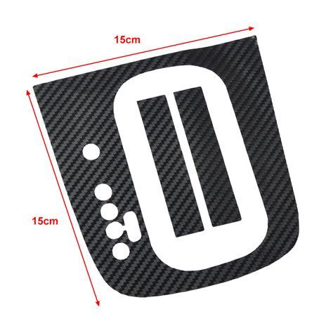 Panel Gear Lhd Carbon Fiber Gear Panel Sticker Dsg Panel Decal For Vw