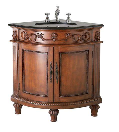 beautiful foret oak corner bathroom vanity review