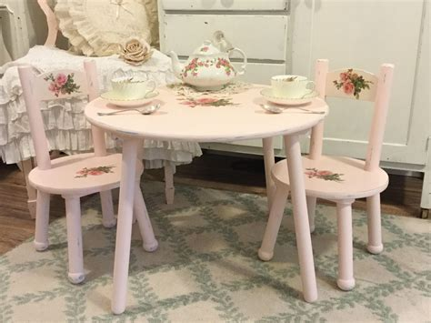 vintage table and chairs shabby children s table and chair set child s vintage