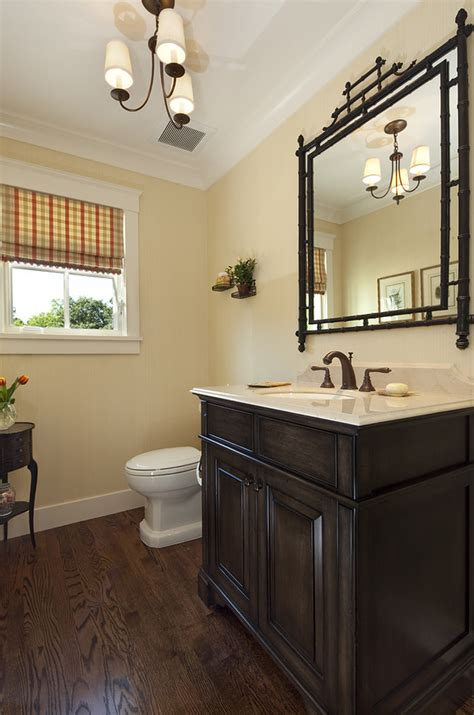 wood floor stain colors Kitchen Transitional with