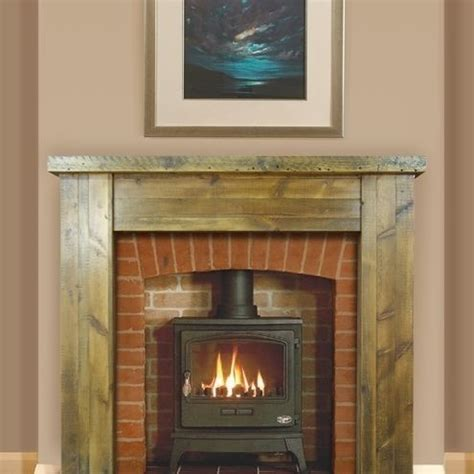 barn wood fireplace surround barn wood ideas