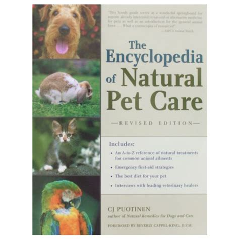 the encyclopedia of green the encyclopedia of natural pet care greenpet