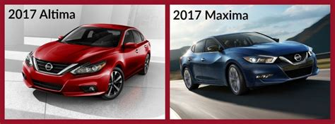 Maxima Vs Altima 2016 by Difference Between The Nissan Altima And Maxima
