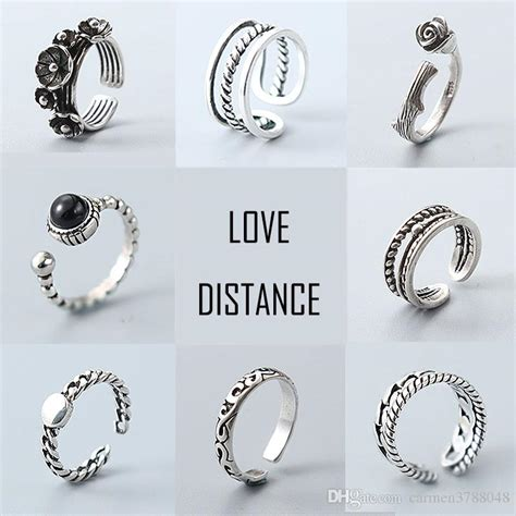 S925 Silver Ring s925 rings for pandora styles silver rings vintage