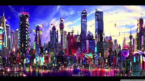 Cityscape Wallpaper by Future City 4k Hd Desktop Wallpaper For 4k Ultra Hd Tv
