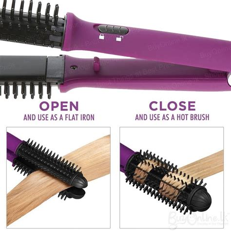 Instyler 4 In 1 Ionic Hair Styler Reviews by Instyler Ionic Styler Pro Brush And Ceramic Flat Iron