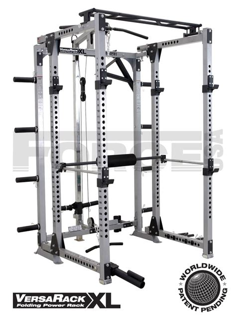 f vr usa versarack xl folding power rack home