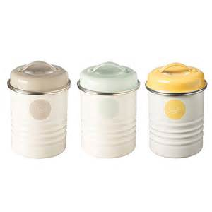 Designer Kitchen Canisters by Typhoon Tea Coffee Sugar Canisters In Americana Design