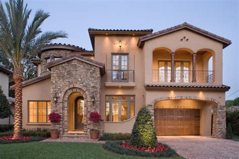 Mediterranean House Mediterranean Style House Plan 4 Beds 3 5 Baths 4923 Sq