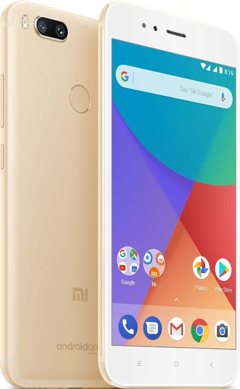 Xiaomi Mi A1 4 64gb Black Gold Grs Resmi Tam xiaomi announces its android one smartphone the mi