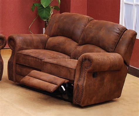 Traditional Reclining Sofa Palamino Fabric Traditional Reclining Sofa W Optional Items
