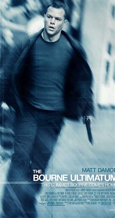 The Bourne Ultimatum the bourne ultimatum 2007 imdb