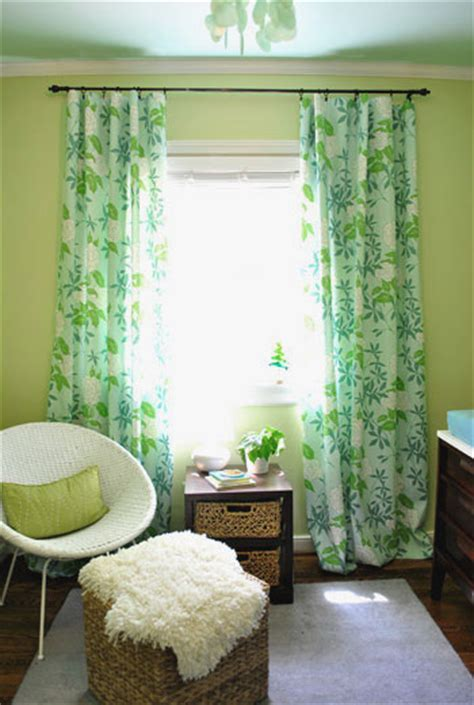 curtains for green walls the big nursery reveal a green blue room for our girl