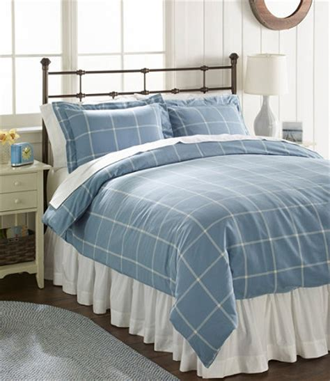 llbean comforter cover ultrasoft comfort flannel comforter cover collection