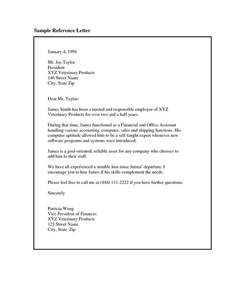 employee cover letter how to write a recommendation letter for an employee