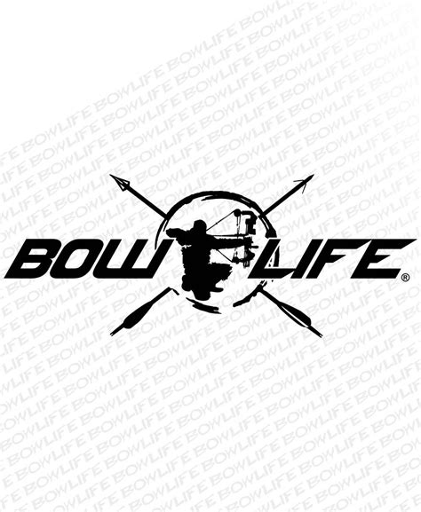 bow decal bow center vinyl decal bowhunting decals bow