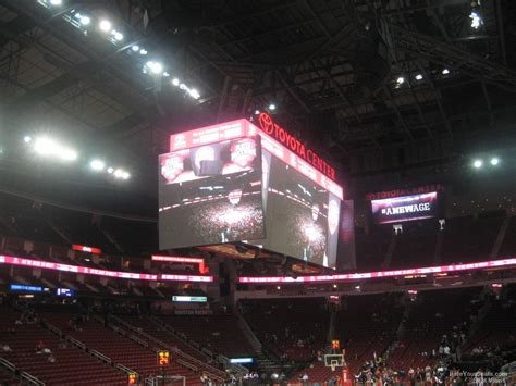 Section 112 Toyota Center Toyota Center Section 112 Houston Rockets