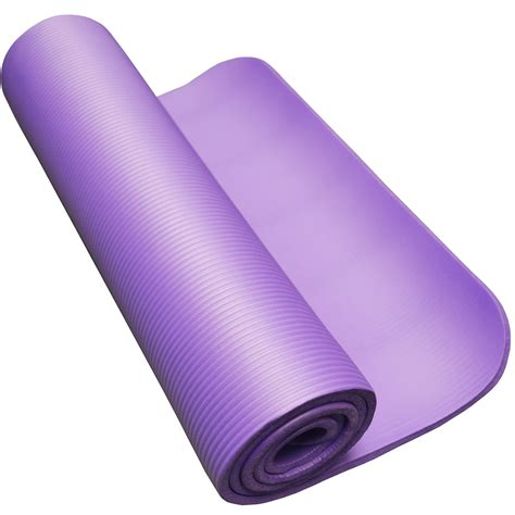 10mm 1cm thick roll non slip ribbed cing pilates