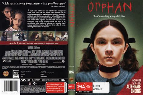 film orphan complet orphan 2009 movie dvd cd cover dvd cover front cover