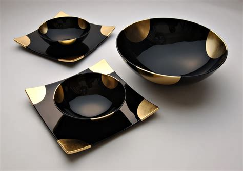 gold dining set plates a touch of gold dining set large bowl 171 unique japan