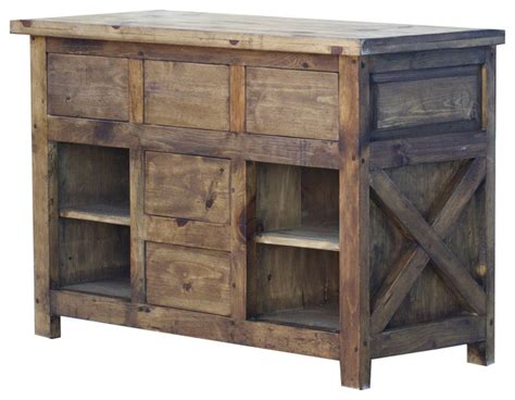 Jsi Kitchen Cabinets by X Style Bathroom Vanity 48 Quot Rustic Bathroom Vanities