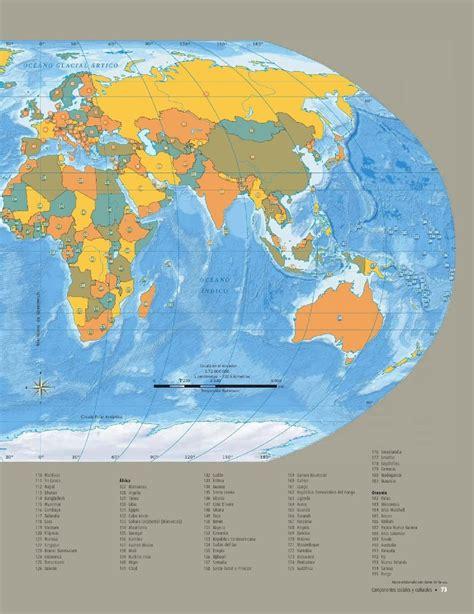 atlas de geografia del mundo 5 a grado pagina 198 geografia quinto grado 2015 y 2016